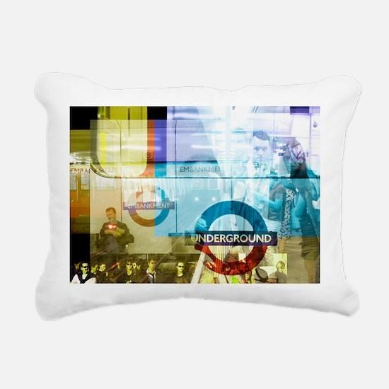 Underground trains - Pillow