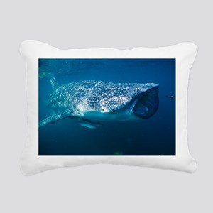 Whale shark and pilot fish - Pillow