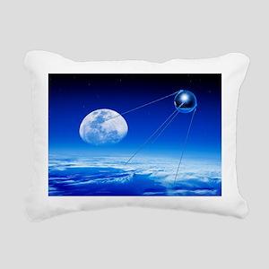 Sputnik 1 satellite, composite image - Pillow