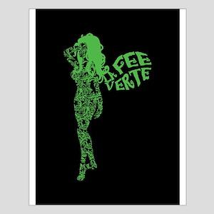 Swirly La Fee Verte Small Poster