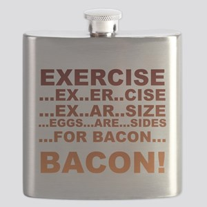 Exercise bacon Flask