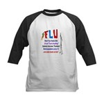 Flu Epidemic-Pandemic? Kids Baseball Jersey