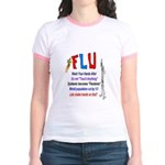 Flu Epidemic-Pandemic? Jr. Ringer T-Shirt