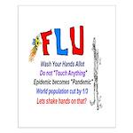 Flu Epidemic-Pandemic? Small Poster