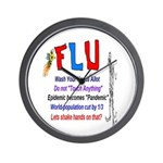 Flu Epidemic-Pandemic? Wall Clock