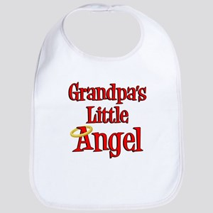 Grandpas Little Angel Bib