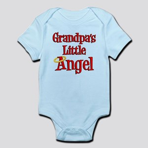Grandpas Little Angel Infant Bodysuit