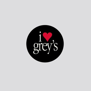 """""""I Heart Grey's"""" Mini Button"""
