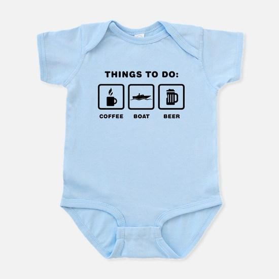 Boating Infant Bodysuit