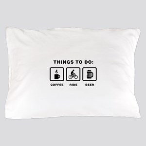 Bicycle Riding Pillow Case