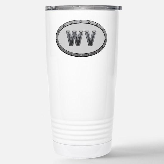 WV Metal Stainless Steel Travel Mug