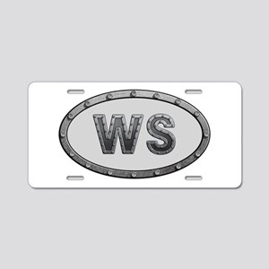 WS Metal Aluminum License Plate