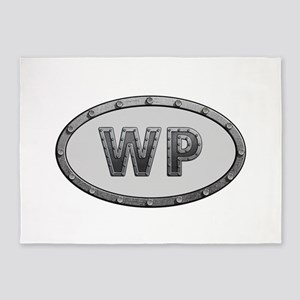 WP Metal 5'x7'Area Rug