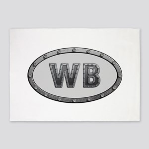 WB Metal 5'x7'Area Rug