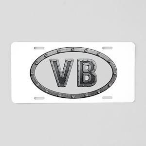 VB Metal Aluminum License Plate