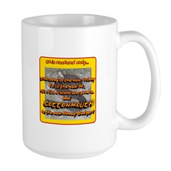 Cottonmouth The New Honey Badger Large Mug