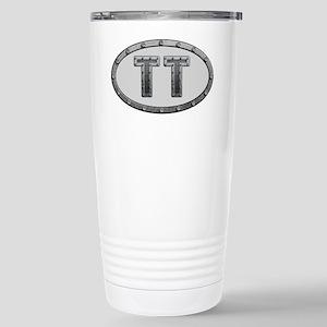 TT Metal Stainless Steel Travel Mug