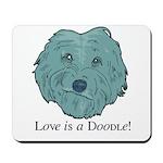 Love is a Doodle Mousepad
