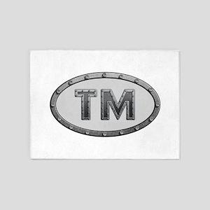 TM Metal 5'x7'Area Rug
