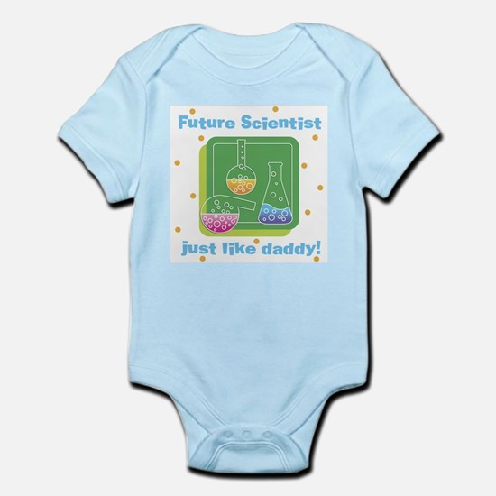 Future Scientist Like Daddy Baby Body Suit