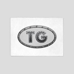 TG Metal 5'x7'Area Rug