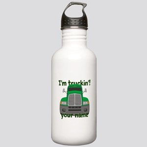 Personalized Im Truckin Stainless Water Bottle 1.0