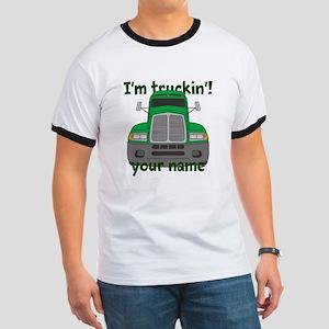 Personalized Im Truckin Ringer T
