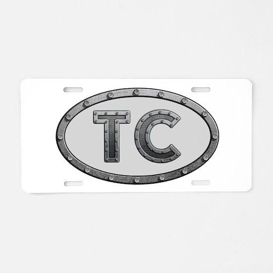 TC Metal Aluminum License Plate
