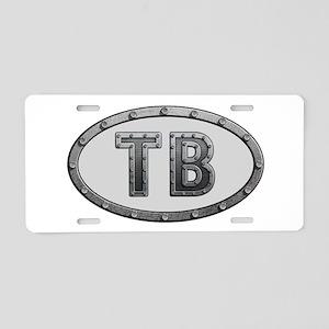 TB Metal Aluminum License Plate
