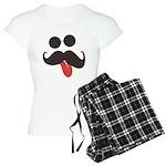 Mustache and Sunglasses Women's Light Pajamas