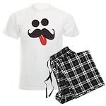Mustache and Sunglasses Men's Light Pajamas