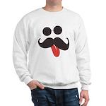 Mustache and Sunglasses Sweatshirt