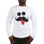 Mustache and Sunglasses Long Sleeve T-Shirt