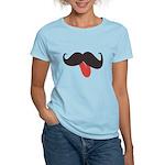 Mustache and Tongue Women's Light T-Shirt