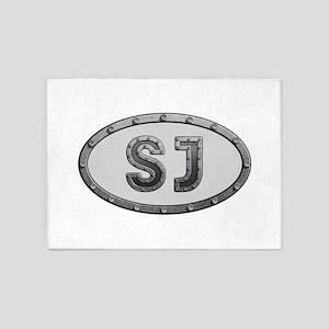 SJ Metal 5'x7'Area Rug