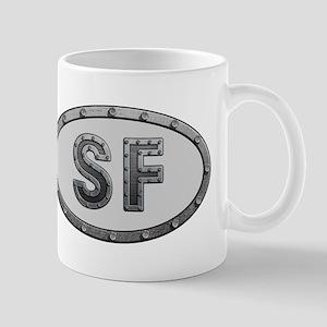 SF Metal Mug