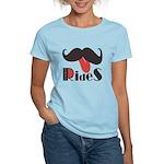 Mustache Rides Women's Light T-Shirt