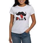 Mustache Rides Women's T-Shirt