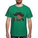 Mustache Rides Dark T-Shirt