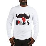 Mustache Rides Long Sleeve T-Shirt