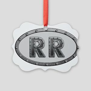 RR Metal Picture Ornament