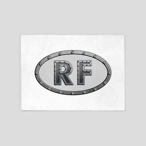 RF Metal 5'x7'Area Rug