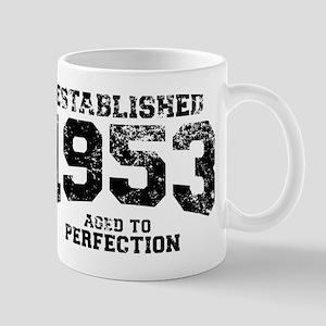Established 1953 - Aged to perfection Mug