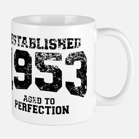 Established 1953 - Aged to perfection Mug