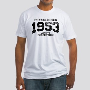 Established 1953 - Aged to perfection Fitted T-Shi