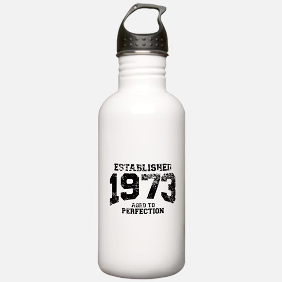 Established 1973 - Aged to perfection Water Bottle