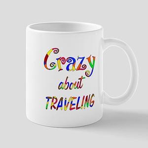 Crazy About Traveling Mug