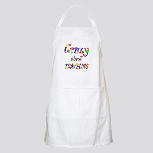 Crazy About Traveling Apron