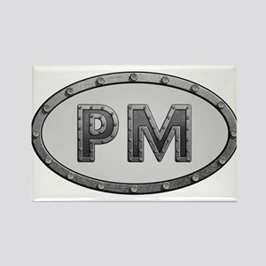 PM Metal Rectangle Magnet
