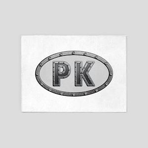 PK Metal 5'x7'Area Rug